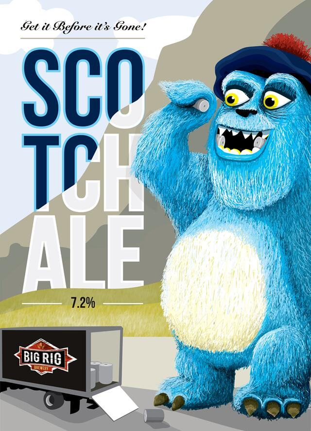 Scotch Ale from Big Rig!