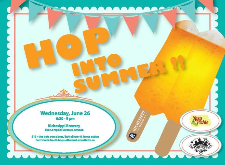 Hop Into Summer with Barley's Angels Ottawa!