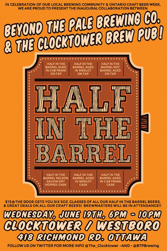 Half in the Barrel - a Clocktower and Beyond the Pale collaboration