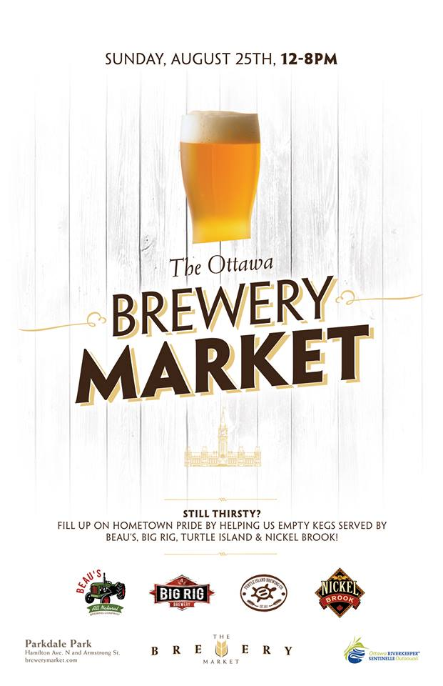 The Ottawa Brewery Market - August 25