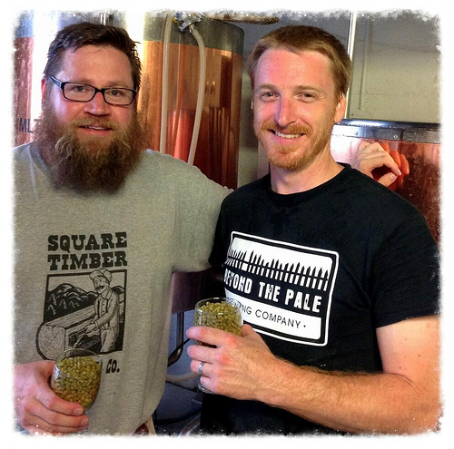 Marc Bru (Square Timber) and Shane Clark (Beyond the Pale)