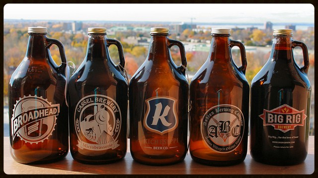 Growlers in Ottawa - What are they and where to get them