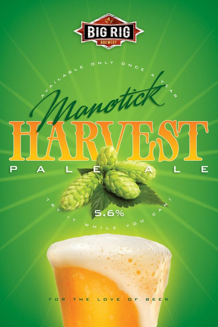 Big Rig's Manotick Harvest Pale Ale