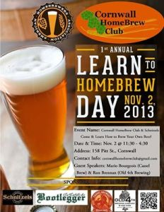 Learn How to Homebrew Day in Cornwall!