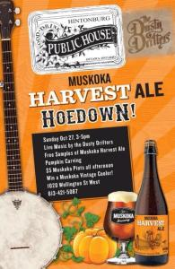 Muskoka Harvest Hoedown at the Hintonburg Public House