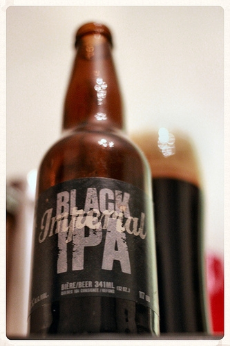 Imperial Black IPA by Brasserie Dunham