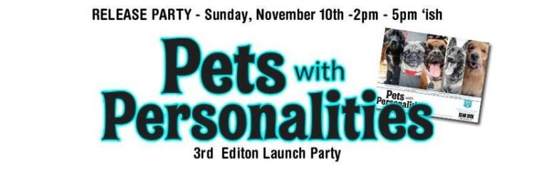 Pets with Personalities Launch Party