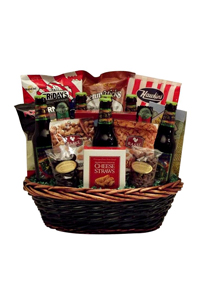 Tidings of Brew Gift Basket - Cranberry Corner