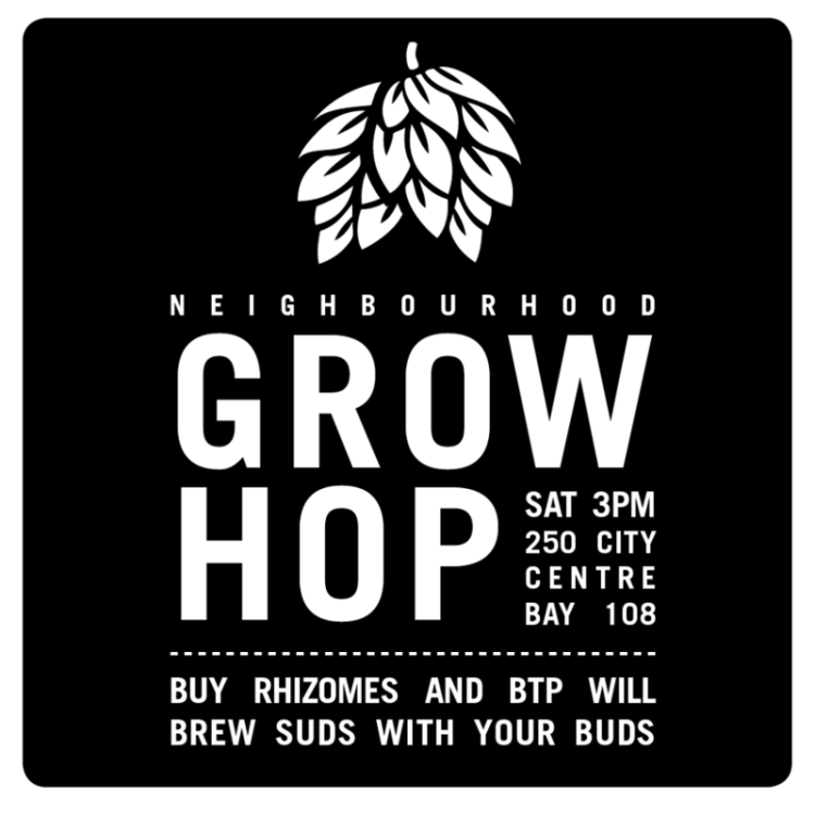 Beyond the Pale Community Grow Hop!