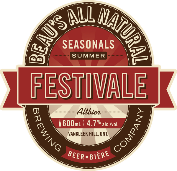 Festivale from Beau's All Natural Brewing Company