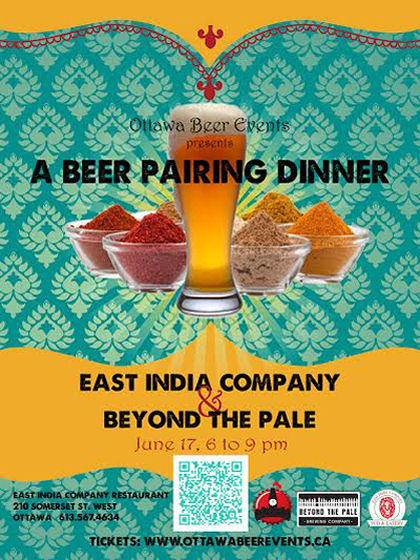 Beer Pairing Dinner w/ East India Company and Beyond the Pale