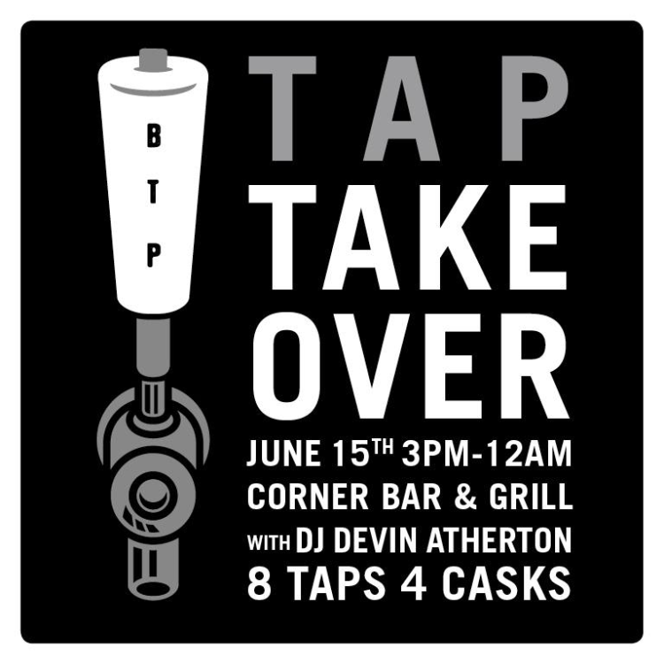TAP TAKEOVER: Beyond the Pale at Corner Bar & Grill (June 15, 2014)