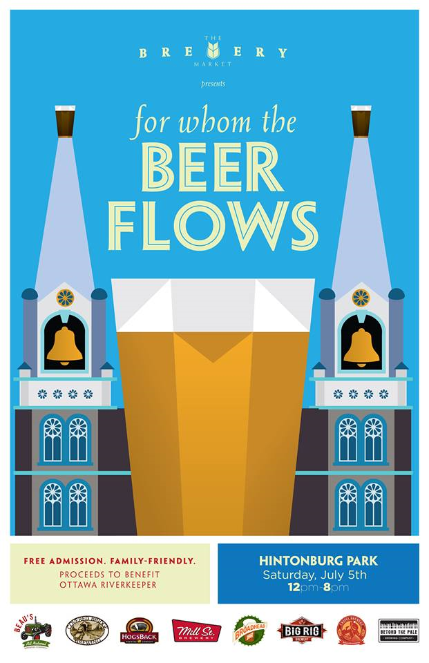 BEER FESTIVAL: Ottawa Brewery Market // FOR WHOM THE BEER FLOWS (Julyl 5, 2014)