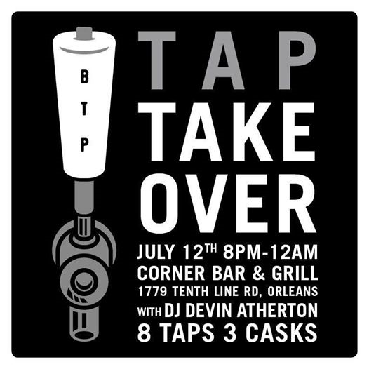 TAP TAKEOVER: Beyond the Pale at Corner Bar & Grill - Orleans (June 12, 2014)