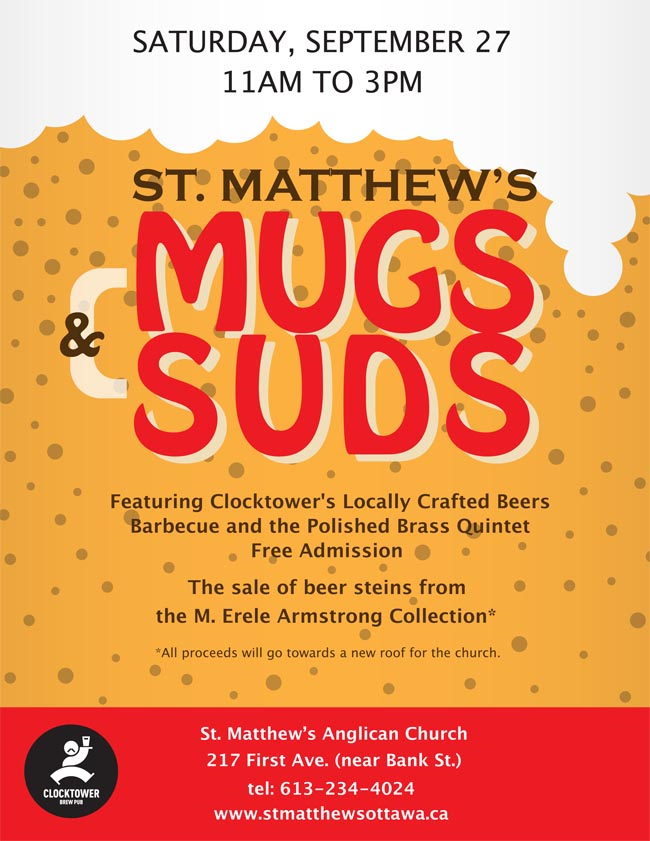 St. Matthew's Mugs & Suds (Ottawa, ON)