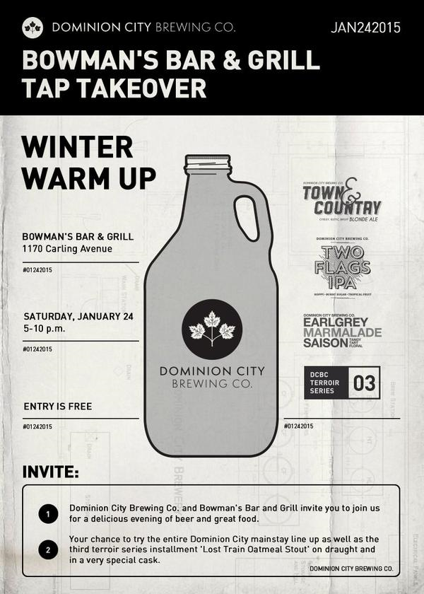 Dominion City Tap Takeover