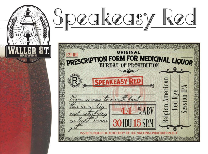 Speakeasy red